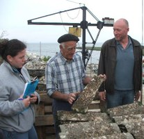 Study trip to  oyster farm