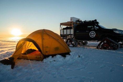 Expedition Antarctica: tent