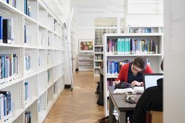 Bibliotheek Campus Coupure (vergrote weergave)