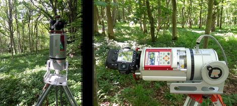 Laser scanner for trees