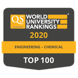 Top 100 QS Ranking - Engineering: chemical
