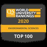 Top 100 QS Ranking - Environmental Sciences