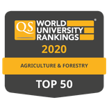 Top 50 QS Ranking - Agriculture & Forestry