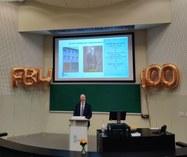 Lancering 100 jaar FBW: toespraak door decaan prof. dr. ir. Marc Van Meirvenne