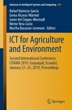 Cover of ICT for Agriculture and Environment