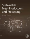 Cover of Sustainable Meat Production and Processing