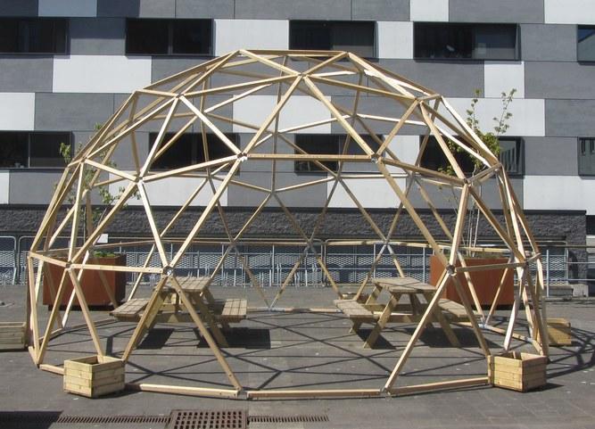 UGent-GreenOffice-Woodlab Dome_2021.JPG