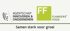 Logo Agentschap Innoveren en Ondernemen Flanders' Food