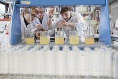 Studenten Bioprocestechnologie