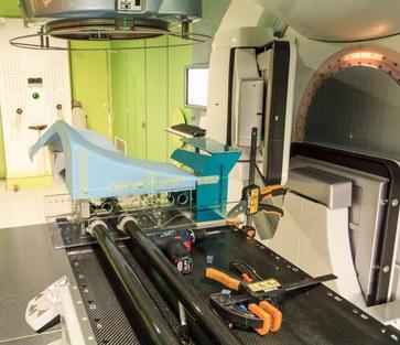 Masterproef Bert Boute: Optimalisatie van de buikligpositie tijdens borst-radiotherapie
