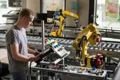 Robot_transportband_lab_aut