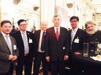Visit of Xieg and UCAS to Ghent University