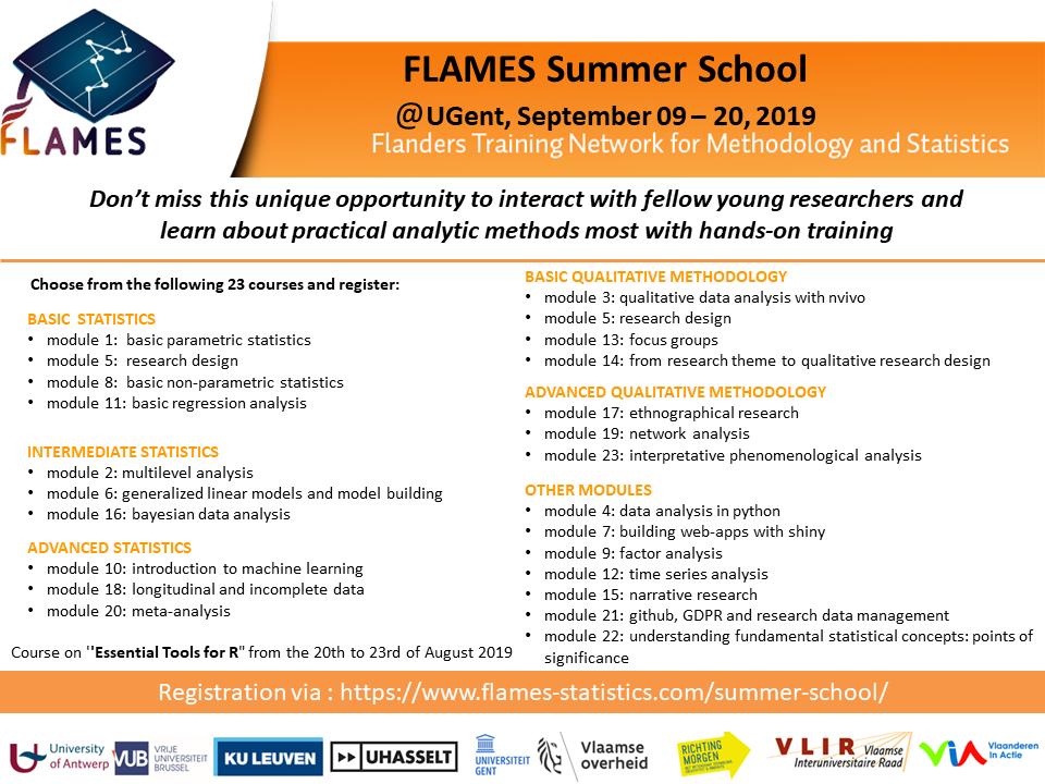 Modules Flames Summer School