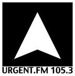 Logo Urgent.fm met frequentie