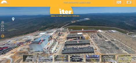 Volg hier een virtuele rondleiding op de ITER-bouwwerf!