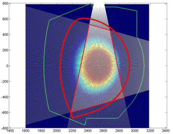 Lines-of-sight of the SXR diagnostic at the WEST tokamak
