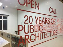 'Open Oproep. 20 jaar architectuur in publieke opdracht' nu in Brussel