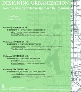 Lezingenreeks 'Designing Urbanization'
