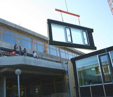 PRO³ Prefab-Renovatie-Oplossingen voor de tertiaire gebouwsector