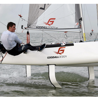 Thesis Dynamic Stability Analysis of a Hydrofoiling Sailing Boat using CFD