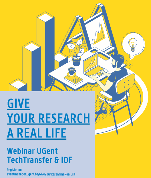Webinar UGent TechTransfer: Give your Research a Real Life!