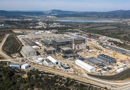 ITER site in Cadarache
