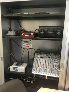 opnamestudio ugain apparatuur