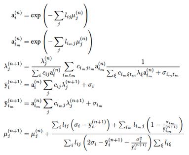 Figure 1: Listmode-MLAA algorithm with background.