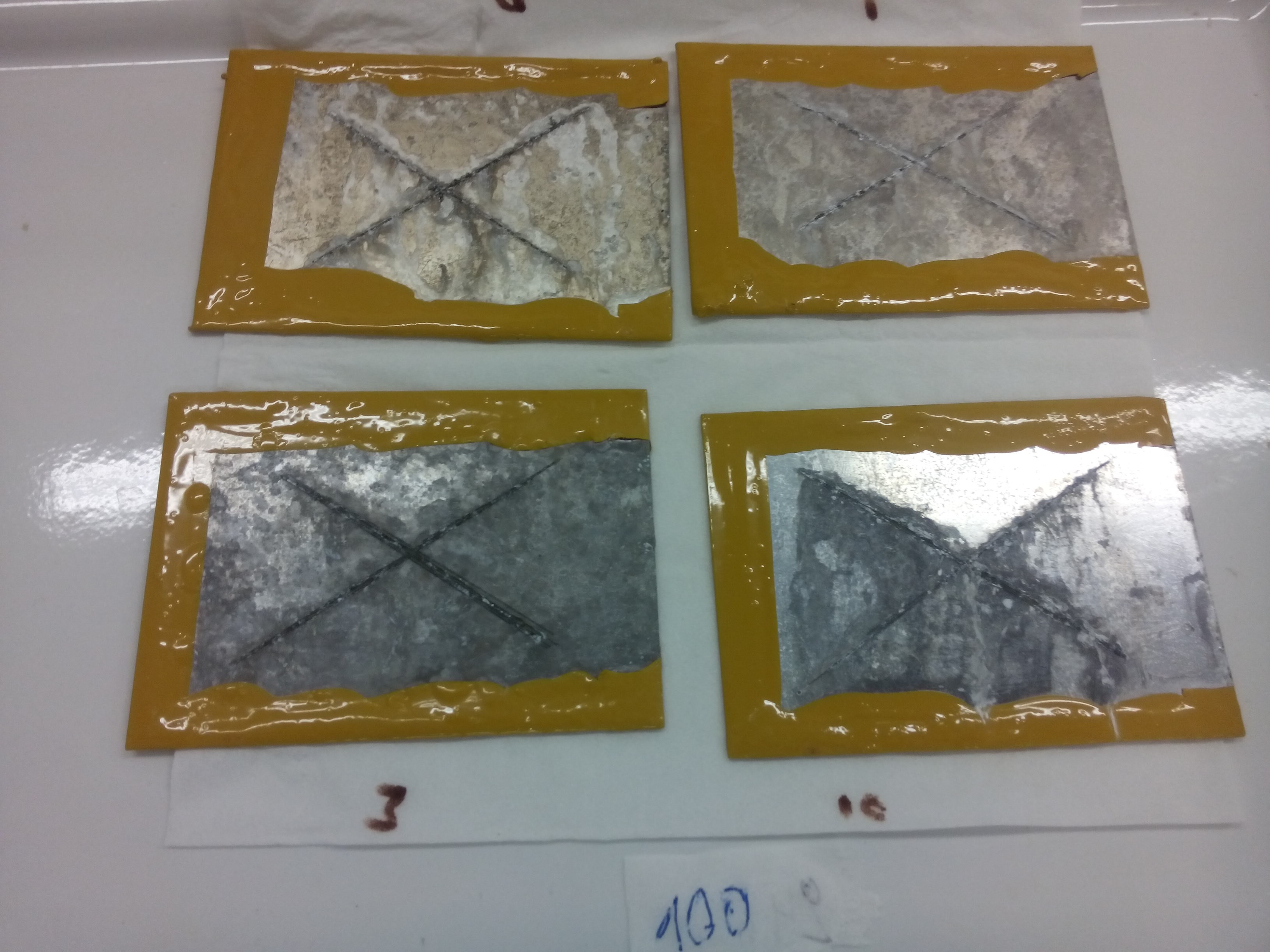 Corrosion testing — Sustainable Materials Science — Ghent