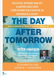 Lezing Peter Hinssen bij de opening van het academiejaar 2017-2018