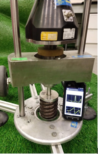 artificial turf field tests
