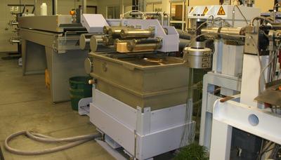 bicomponent monofilament lab extrusion line