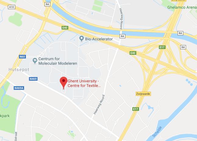 Google Maps view campus