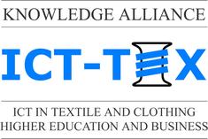 Logo voor het Erasmus+ project ICT-Tex
