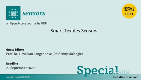 Special Issue Smart Textiles Sensors