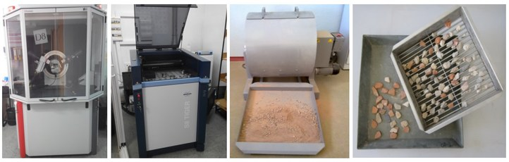 Characterization of recycled aggregates.