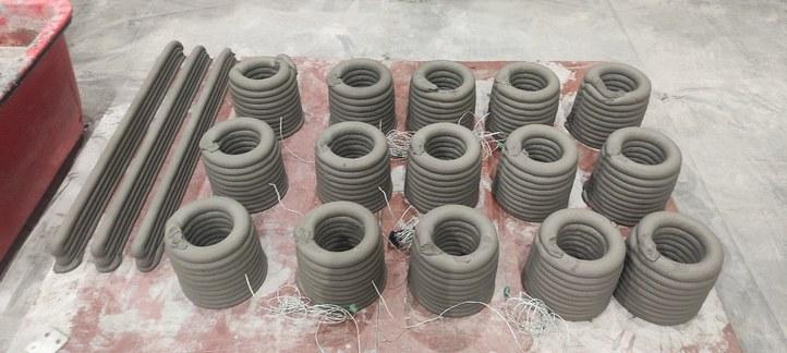 3D Printed Concrete elements