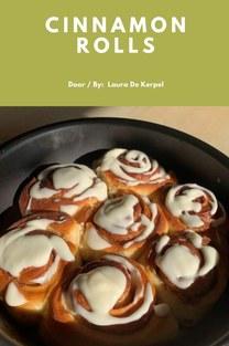 Cinnamon rolls - Laura De Kerpel