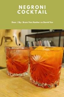 Negroni cocktail - Bram Van Haelter en David Vos