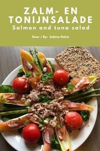 Zalm- en tonijnsalade - Sabine Dekie
