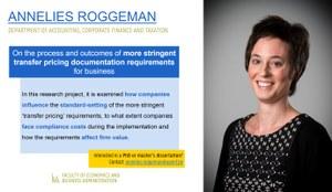 Research of Annelies Roggeman