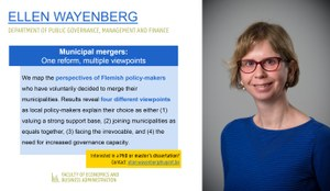 Research of Ellen Wayenberg