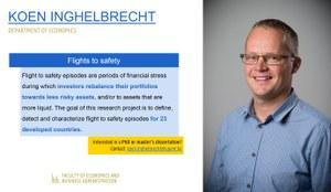 Research of Koen Inghelbrecht