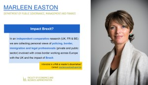 Research of Marleen Easton