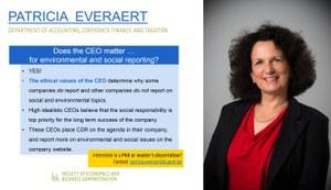 Research of Patricia Everaert