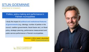 Research of Stijn Goeminne
