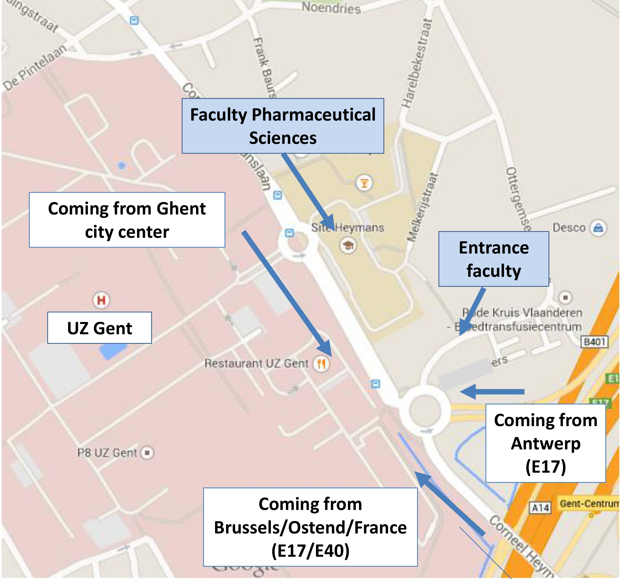 Contact Department of Pharmaceutical Analysis Ghent University