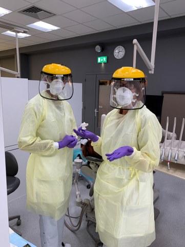 Beschermende kledij bij aerosol behandelingen