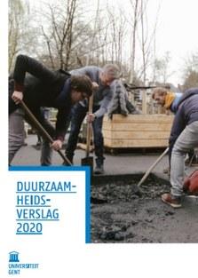 Cover duurzaamheidsverslag 2020