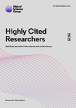 Highly Cited Researchers 2019 - report cover